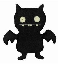 Uglydoll Little Plush Ice-Bat, Black Ugly Dolls, Ugly To Pretty, Garbage Pail Kids, Black Bat, Toy R, Plush Dolls, Plushies, Softies, Being Ugly