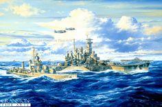 USS North Carolina ,Saipan Bound by Anthony Saunders
