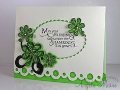 WT413 Irish Blessing by Arizona Maine - Cards and Paper Crafts at Splitcoaststampers
