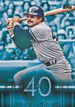 2015 Topps Baseball Free Agent 40 #F40-11 Reggie Jackson - New York Yankees