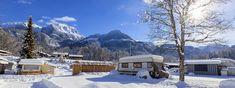 Wintercamping in den Bergen