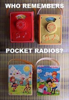 Love these toy radios, I had one as a child #toyradio #Toysfrompast #vinatgetoys