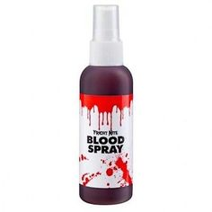 Bottle of fake blood spray halloween #fancy #dress accessory #zombie pump spatter,  View more on the LINK: http://www.zeppy.io/product/gb/2/291243162047/