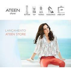 """162 curtidas, 5 comentários - ATEEN (@ateenloja) no Instagram: """"A nossa loja online está no ar! E a coleção Primavera/Verão 2013-2014 já está disponível para…"""""""
