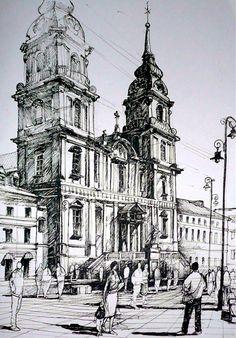 Amazing #ink #drawing by Rafał Rudko
