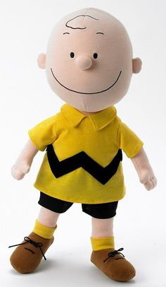 Charlie Brown Cloth by Madame Alexander Charlie Brown Christmas, Charlie Brown And Snoopy, Charlie Charlie, Adult Crafts, Kids Crafts, Peppermint Patties, Fabric Dolls, Rag Dolls, Imaginative Play
