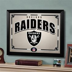 Oakland Raiders 22'' Printed Mirror