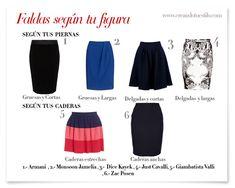 faldas según tu tipo de cuerpo