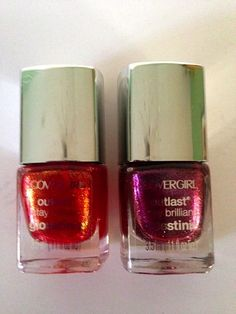 CoverGirl Outlast Stay Brilliant Glosstinis: Hunger Games Nail Polish Minis & Giveaway Winners | Never Say Die Beauty