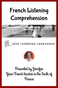 This is an upper beginner level French listening comprehension course. Ten lessons are included for a total of + hours of video instruction. Each comprehensive lesson includes French grammar unique to the level. Learn French Online, French For Beginners, French Grammar, Teacher Boards, French Teacher, 5 Hours, Comprehension, Online Courses, Improve Yourself