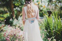 Handmade wedding in Ojai with a Free People wedding dress, Bow Tattoos, Sugar Skull Tattoos, Sleeve Tattoos, Garter Tattoos, Rosary Tattoos, Heart Tattoos, Free People Wedding Dress, Wedding Dresses, Handmade Wedding