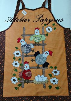 love this adorable chicken theme apron!