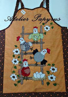 galinhas para avental