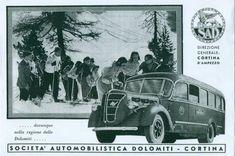 1937: Promozione dei servizi turistici con Autobus Alfa Romeo