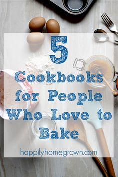 I had over 100 cookbooks each with at least a handful of recipes that I would make regularly. Here are my top 5 Cookbooks for People Who Love to Bake Household Cleaning Tips, Cleaning Hacks, Easy Diy Gifts, Home Economics, Neighbor Gifts, Yummy Eats, Simple Living, Christmas Shopping, As You Like