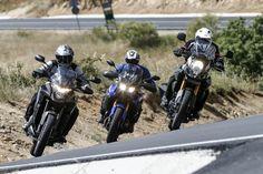 Comparativa maxitrail japonesa: Honda, Suzuki y Yamaha | Motociclismo.es Motogp, Honda, Trail, Motorcycle, Vehicles, Photo Galleries, Motorbikes, Cars, Motorcycles