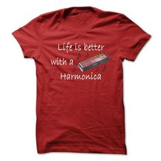 Life Is Better With A Harmonica - #mens shirts #dc hoodies. CHEAP PRICE:  => https://www.sunfrog.com/Funny/Life-Is-Better-With-A-Harmonica.html?id=60505