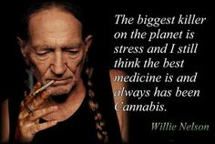 The biggest killer on the planet is stress and I still think the best medicine is and always has been Cannabis | Anonymous ART of Revolution