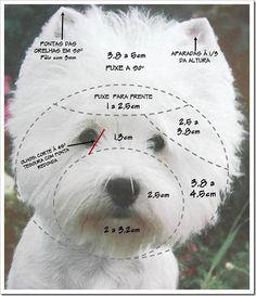 dog stuff,dog ideas,dog care,dog tips,dog grooming Dog Grooming Styles, Dog Grooming Salons, Dog Grooming Tips, Dog Grooming Business, West Terrier, Terrier Dogs, Cortes Poodle, Modern Dog Toys, Dog Haircuts