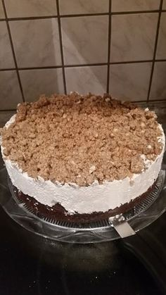 Nuss – Sahne – Kuchen Nut cream cake, a delicious recipe from the category cake. Big Cakes, Food Cakes, Pecan Recipes, Cake Recipes, Baked Ham, Cooking Chef, Frozen Meals, Cream Cake, No Bake Cake