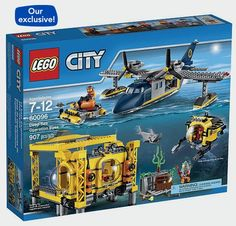 "LEGO City Deep Sea Operation Base (60096) - Toys""R""Us http://fave.co/2ciEwLm"