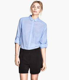 With the right top I think these would be fun! H&M Fancy Shorts $24.95