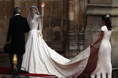 Royal Wedding - The Wedding Party Make Their Way To Westminster Abbey