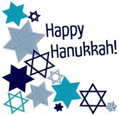 Happy Hanukkah embroidery design Happy Hanukkah, Hannukah, Holidays And Events, Happy Holidays, Embroidery Patterns, Israel, Seasons, Needlepoint Patterns, Seasons Of The Year
