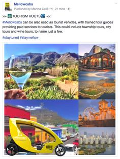 Follow us on Facebook and on our website www.melowcabs.com to know more about our offer!  #mellowcabs #staymellow Tour Guide, Tourism, This Is Us, Facebook, Website, City, Turismo, Cities, Travel Guide