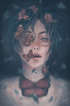 Find images and videos about boy, art and anime on We Heart It - the app to get lost in what you love. Inspiration Art, Art Inspo, Aesthetic Anime, Aesthetic Art, Anime Art Girl, Manga Art, Art Sketches, Art Drawings, Arte Obscura