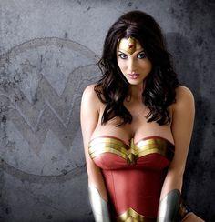Super hero cleavage
