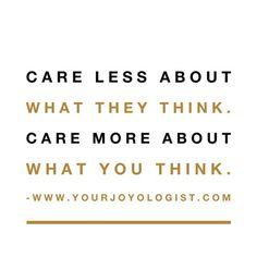 You do you. | Your Joyologist