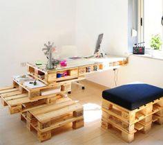 *My new home* Palets reconvertidos // Reconverted pallets | Decorar tu casa es facilisimo.com