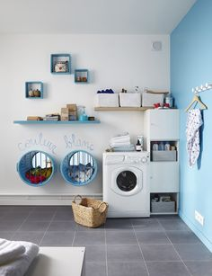 Read This Before You Redo Your Laundry Room Interior Design Living Room, Living Room Designs, Living Room Decor, Apartment Needs, Laundry Room Design, Laundry Area, Paint Colors For Living Room, Küchen Design, Room Organization