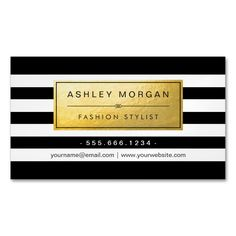 Classic Golden Label with Black White Stripes Magnetic Business Cards (Pack Of This great business card design is available for customization. All text style, colors, sizes can be modified to fit your needs. Just click the image to learn more! Gold Business Card, Unique Business Cards, Business Card Design, Hairstylist Business Cards, Makeup Artist Business Cards, Magnetic Business Cards, Create Your Own Business, Black Wedding Invitations, Standard Business Card Size