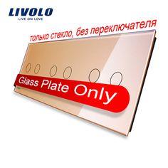 $8.57 (Buy here: https://alitems.com/g/1e8d114494ebda23ff8b16525dc3e8/?i=5&ulp=https%3A%2F%2Fwww.aliexpress.com%2Fitem%2FLivolo-Luxury-Golden-Pearl-Crystal-Glass-For-DIY-Switch-223mm-80mm-EU-standard-Triple-Glass-Panel%2F32760654468.html ) Livolo Luxury Golden Pearl Crystal Glass For DIY Switch,223mm*80mm, EU standard, Triple Glass Panel,VL-C7-C2/C2/C2-13 for just $8.57