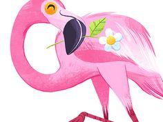 Flamingo by Melanie Matthews