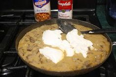 The Ranch Kitchen: The Ranch Kitchen's Beef Stroganoff Cooked Pork Recipes, Leftover Steak Recipes, Leftovers Recipes, Beef Recipes, Cooking Recipes, Pasta Recipes, Steak And Onions, Dinner Today, Beef Stew Meat