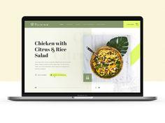 Restarant Web Concept