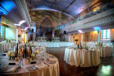 great wedding moments at -Berkeley Church - Toronto Wedding Venue Glass French Doors, Glass Doors, Dramatic Lighting, Winter Wonderland Wedding, Wooden Decks, Event Decor, Event Ideas, Event Venues, Corporate Events