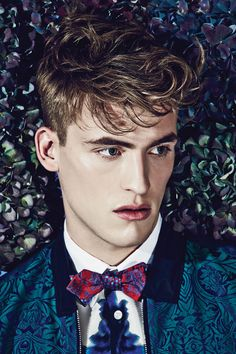 'Super Ted'  Teddy Boy tailoring and preppy bombers with bold colour and print  photographer Euan Danks  Stylist Deborah Latouche
