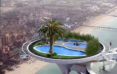 Worlds highest tennis court at the Burj Al Arab hotel in Dubai. Located more than 650 ft m) above ground, the hotel's grass helipad was converted into a 4500 sq ft sq m) tennis court to promote the Dubai Open back in In Dubai, Dubai Hotel, Dubai Uae, Dubai Trip, Dubai Travel, Burj Al Arab, Places Around The World, The Places Youll Go, Top Image