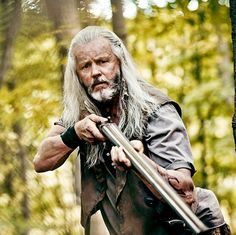 Big foster is back or is he is? Join us over on Twitter tonight for live tweets. #outsiders #wgn #bigfoster #livetweet #tonight #FANdemaniacs