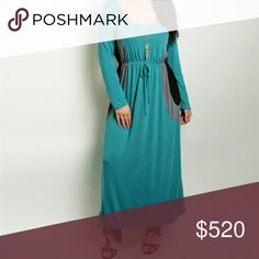 COMING SOON Plus Teal colorblock dress Price will drop to $52 when listing is completely updated.  Fiber content   Aporox. Measurements in inches Bust Waist Hip Length from shoulder   No trades. Dresses