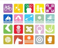 If Apple designed the Olympics...in 1968.    GRAPHIC AMBIENT » Blog Archive » 1968 Mexico Olympics, Mexico