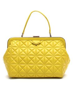 Kate Spade Graffiti Yellow New York Sedgwick Place Emilia Top Handle Bag | zulily