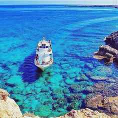 Blue Lagoon, CyprusWho would you escape here with? #cyprus #travel #thelifeabroad