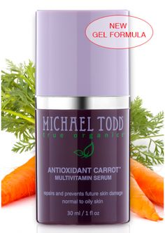 ooh, we love this! an antioxidant, multivitamin carrot serum. it tightens pores and reduces breakouts, acne scars and wrinkles! #antioxidant #antiaging #glutenfree #skincare http://www.michaeltoddtrueorganics.com/index.php/product-type/serums/mtto-antioxidant-carrot-multivitamin-serum.html/?acc=812b4ba287f5ee0bc9d43bbf5bbe87fb&bannerid=6