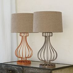 Studio Table Lamp with Lampshade | The Company Store- $199