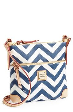Dooney & Bourke Chevron Crossbody. Just got this purse on QVC in black and white! FAB.